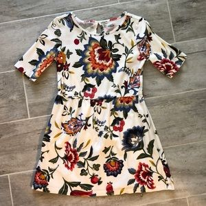 🌸Old navy girls 5 xs floral cotton dress